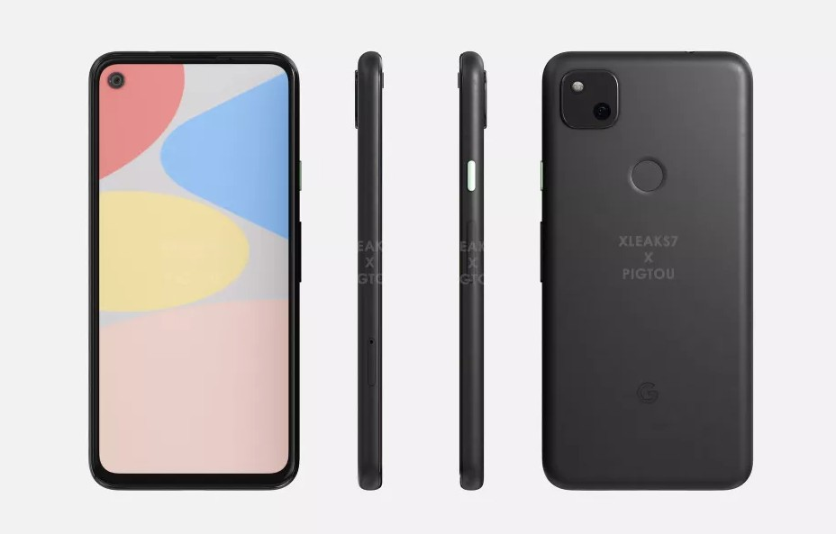 Pixel 4a Design Leaked in Case Renders
