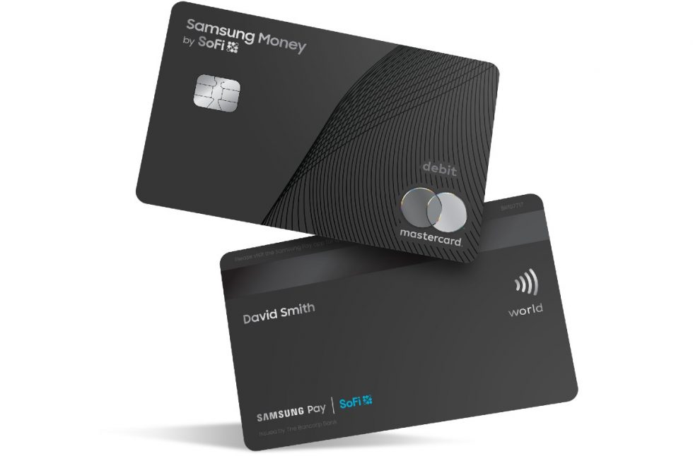 Samsung Pay unveils its first debit card in partnership with SoFi