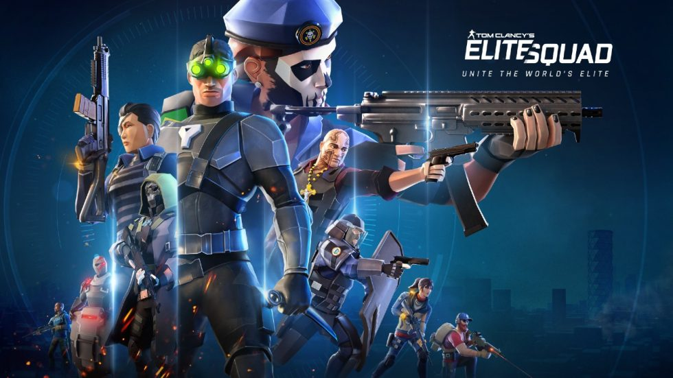 When is the release date for Tom Clancy's Elite Squad?
