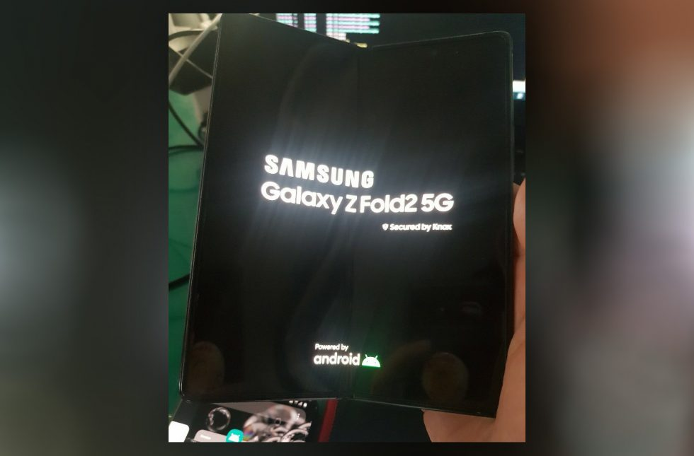Leaked Samsung Galaxy Z Fold 2 picture confirms the notch is dead
