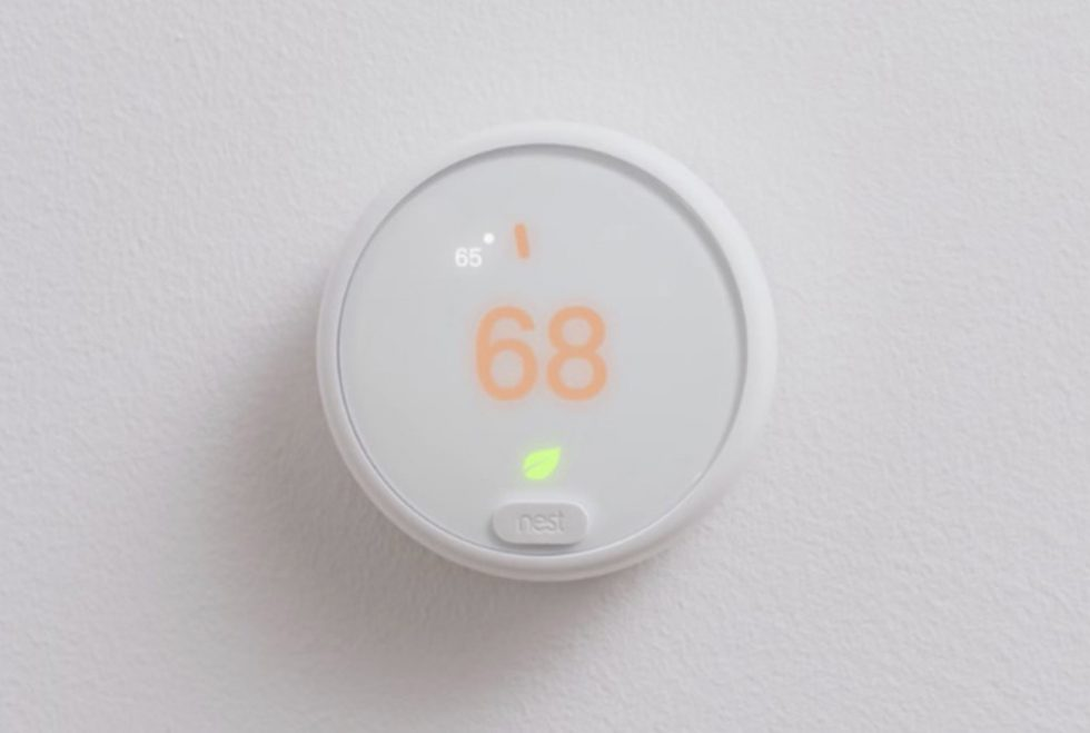 New Google Nest Thermostat Appears to be in the Works