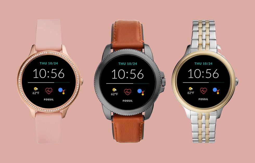 Fossil introduces new Gen 5E smartwatch lineup