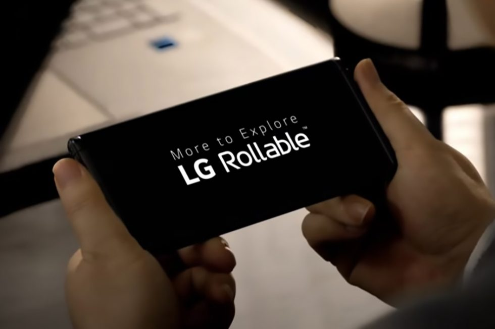 CES 2021: LG showcased its first-ever rollable smartphone at the event class=