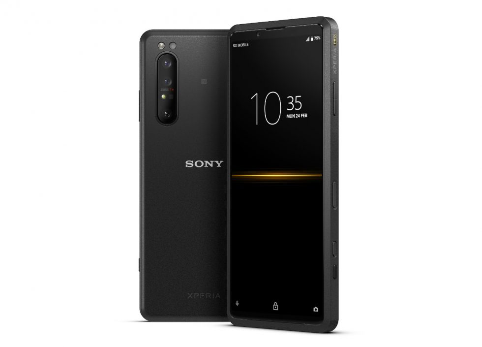 Sony launches $2500 Xperia Pro creative professionals can't afford to ignore